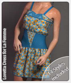 Loretta Dress for La Femme