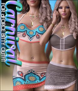 Calypso for dForce Bitty Outfit G8F