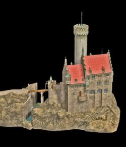 MS20F2 Lichtenstein Castle and Terrain Object