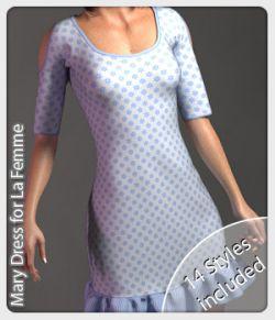 Mary Dress for La Femme