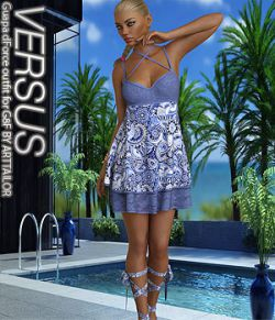 VERSUS - Guapa dForce outfit for G8F