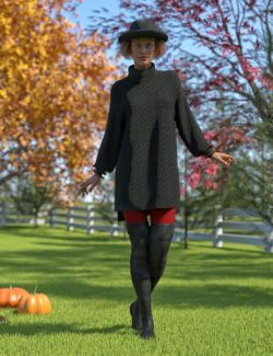 dForce Autumn Days for Genesis 8 Female(s)