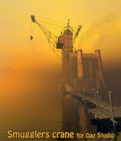 Smugglers crane for Daz studio