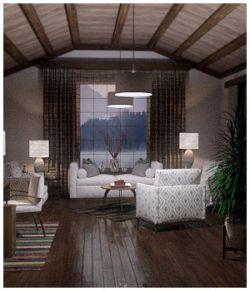 Modern Interiors - Living Room 2