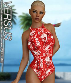VERSUS- Power Swimwear for Genesis 8 Females