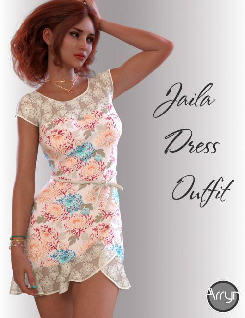 dForce Jaila Candy Dress for Genesis 8 Female(s)