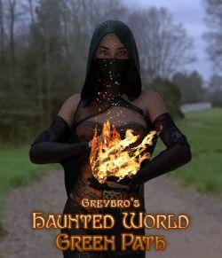 Greybro's Haunted World - Green Path HDRI