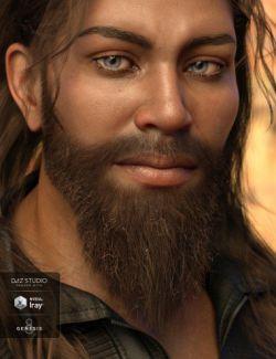 Ashan Beard for Genesis 8 Male