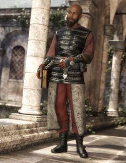 dForce Cleric Outfit for Genesis 8 Male(s)