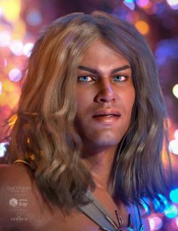 Atlas Hair for Genesis 8 Male