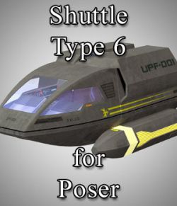 Shuttle Type 6 for Poser