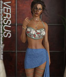 VERSUS - dForce Bitty Outfit for Genesis 8 Females