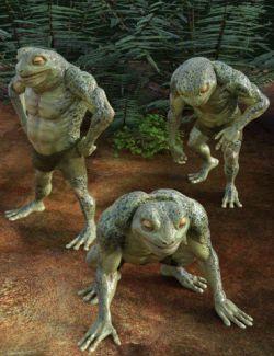 Frog Life Poses for Bullwarg HD