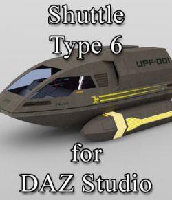 Shuttle Type 6 for DAZ Studio