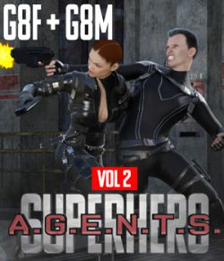 SuperHero Agents for G8F and G8M Volume 2