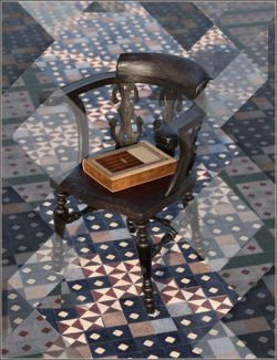 Medieval Church Floor Tile Iray Shaders Vol 3