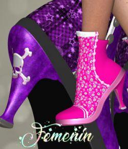 DA-Femenin for La Pixie Boots by 3DTubeMagic