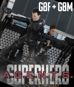 SuperHero Agents for G8F and G8M Volume 1