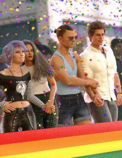 Pride Parade Poses for Genesis 8