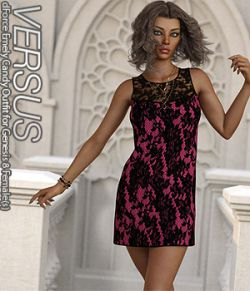 VERSUS- dForce Emely Candy Outfit for Genesis 8 Female(s)