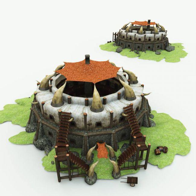 Orc Village Inn for Poser