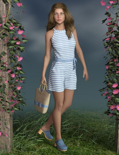 dForce Analise Outfit for Genesis 8 Female(s)