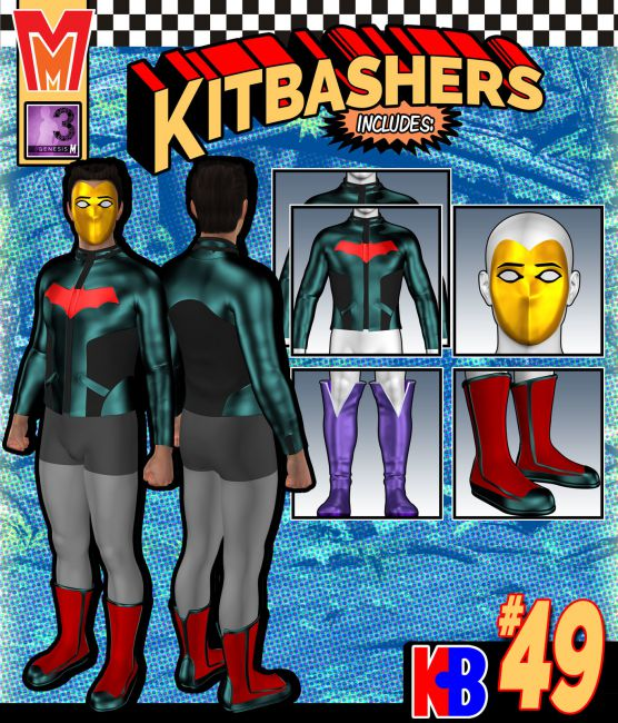 Kitbashers 049 MMG3M