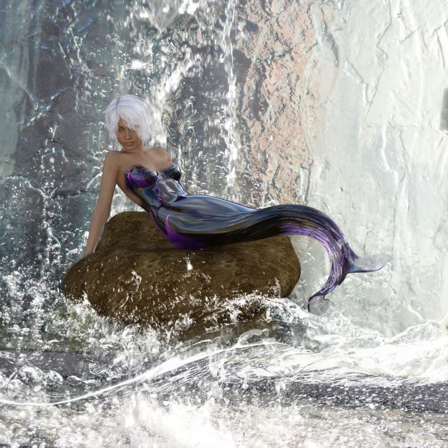 Mermaid Poses for G8F