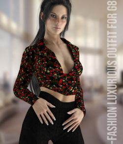 X-Fashion Luxurious Outfit Genesis 8 Female(s)