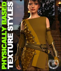 OOT PBR Texture Styles for Sabriel Outfit