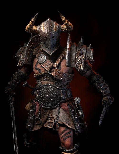 STF Bone Breaker Armor for Genesis 8 Male(s)