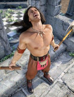 Lion Clan Outfit for Genesis 8 Male(s)