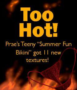 More Summer Fun for Prae's Summer Fun Bikini