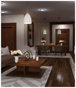 Modern Interiors - Living Room 3
