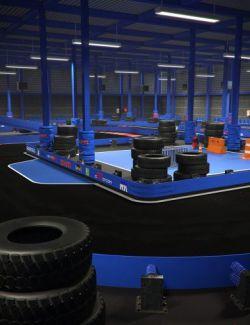Karting Building Track
