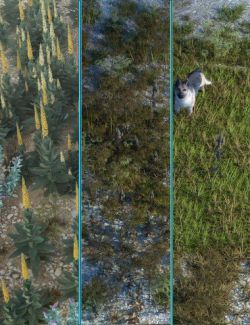 Wasteland Plants and Weeds- Low Resolution Instant Ecosystems
