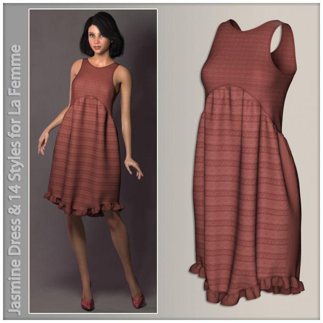 Jasmine Dress for La Femme