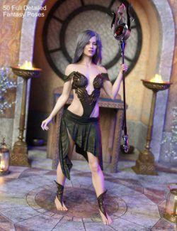 FG Fantasy Pose Pack for Genesis 8 Female