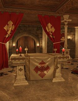 Underground Chapel Modular Environment