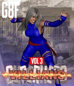 SuperHero Villians for G8F Volume 3
