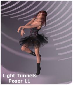 Light Tunnels for Poser