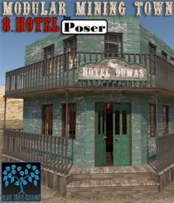 Modular Mining Town: 8. Hotel for Poser