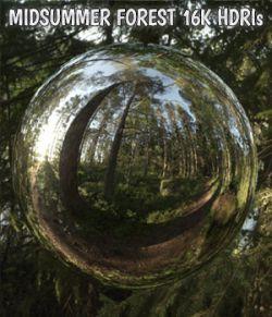 Midsummer Forest 16K HDRIs