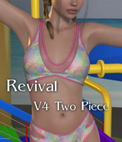 Revival for Two Piece Bikini- V4_Poser