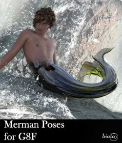 Merman Poses for G8M