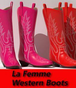 La Femme Western Boots