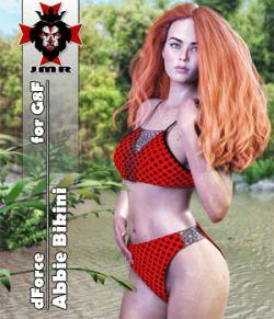 JMR dForce Abbie Bikini for G8F