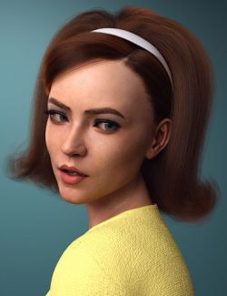 dForce Tracy Hair for Genesis 8 Female(s)