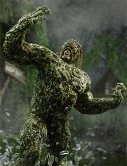 Swampbeast for Genesis 8 Male