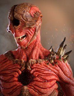 Underworld Soldier HD for Genesis 8 Male